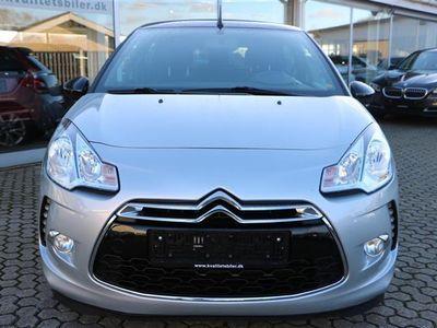 brugt Citroën DS3 1,2 VTi Style 82HK Cabr.