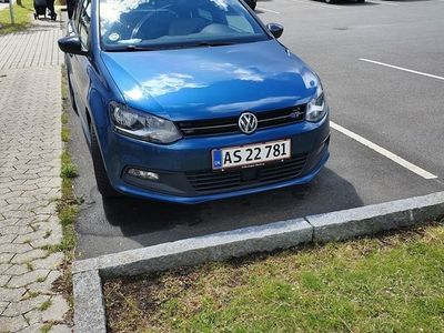 begagnad VW Polo 1,4 TSI BlueGT 150 hk ACT 110 Kw 5 dørs 6 trins manuelBlueGT