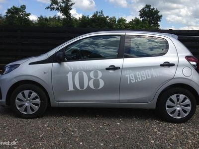 brugt Peugeot 108 1,0 e-Vti Access 69HK 5d
