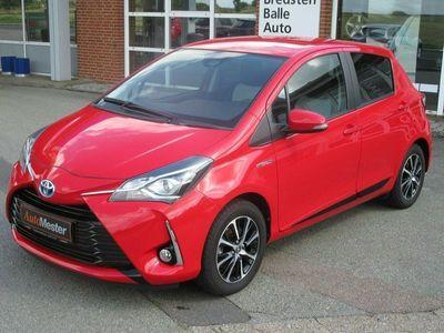 brugt Toyota Yaris Hybrid H2 Premium e-CVT