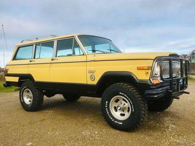brugt Jeep Cherokee Wagoneer Quadratrack 6,6