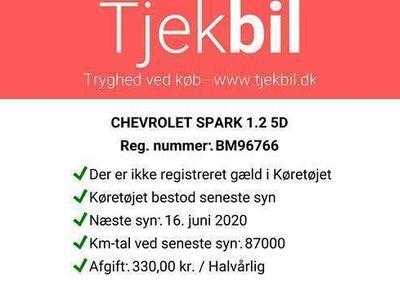 brugt Chevrolet Spark 1,2