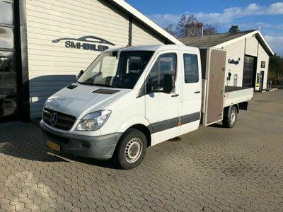 brugt Mercedes Sprinter 313 2,2 CDi R3 Mandskabsvogn m/lad