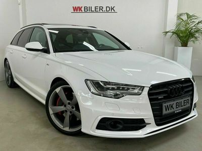 brugt Audi A6 3,0 TDi 313 S-line Avant quattro Tiptr.