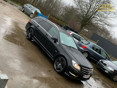 brugt Mercedes C220 2013 edition c AMG Line