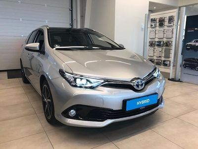 brugt Toyota Auris Touring Sports 1,8 B/EL H2 Style Skyview 136HK Stc Aut.