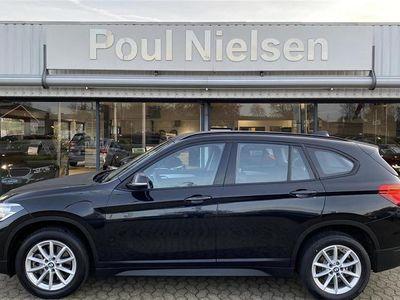 brugt BMW X1 20I 2,0 sDrive20i aut Advantage 192HK 5d