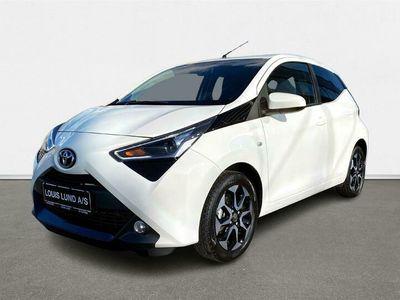 brugt Toyota Aygo 1,0 VVT-I X-Press 72HK 5d A+++