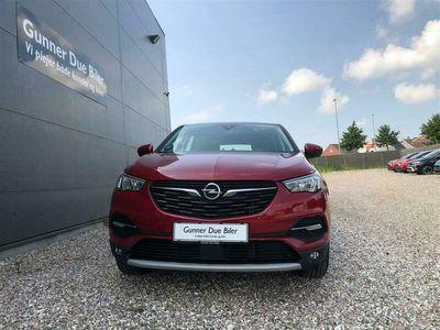 brugt Opel Grandland X 1,2 Direct Injection Turbo Innovation Start/Stop 130HK 5d 6g Aut.