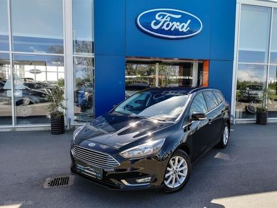 brugt Ford Focus 1,5 TDCi Titanium Plus 120HK Stc 6g