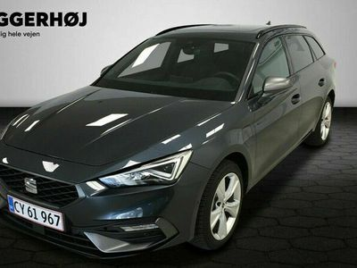 brugt Seat Leon Sportstourer 1,4 e-Hybrid FR DSG 204HK Stc 6g Aut.