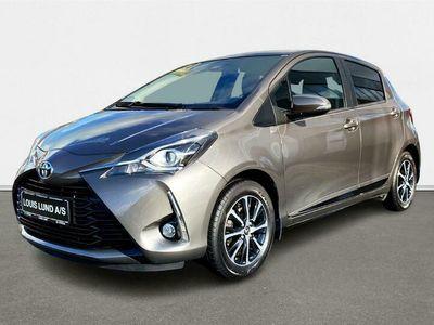 brugt Toyota Yaris 1,5 VVT-I T3 Smartpakke 111HK 5d 6g A+