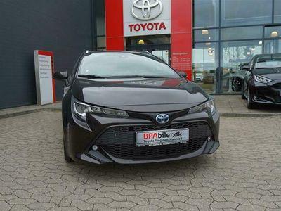 brugt Toyota Corolla Touring Sports 1,8 Hybrid H3 Smart E-CVT 122HK Stc Trinl. Gear A++