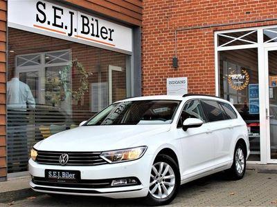 brugt VW Passat Variant 2,0 TDI BMT Comfortline 150HK Stc 6g A+