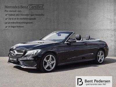 brugt Mercedes C200 2,0 9G-Tronic 184HK Cabr. 9g Aut.