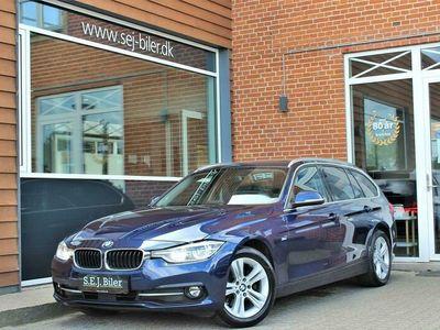 brugt BMW 320 d Touring 2,0 D Sportline Steptronic 190HK Stc 8g Aut. A+