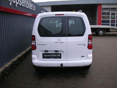 brugt Peugeot Partner L1 Flexpack 1,6 e-HDi Cool 'N' Tool ESG 90HK Van Aut.