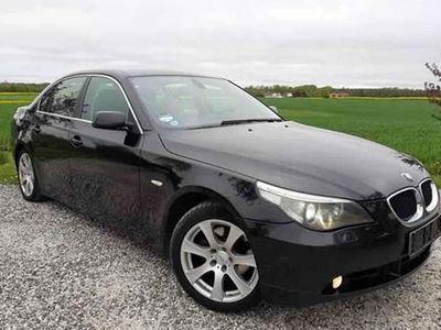 brugt BMW 525 525 2,5 E60 D Aut