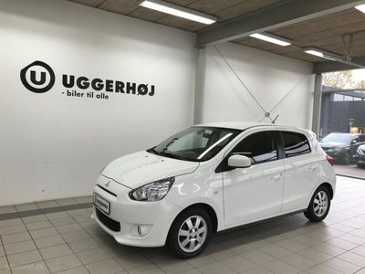 brugt Mitsubishi Space Star 1,2 Black and White Edition 80HK 5d
