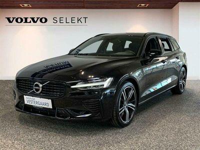 brugt Volvo V60 2,0 T6 Recharge Plugin-hybrid R-design 340HK Stc 8g Aut.
