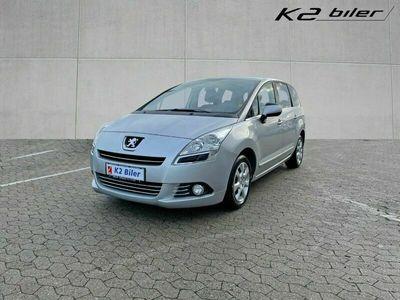 brugt Peugeot 5008 1,6 e-HDi 112 Premium ESG 7prs