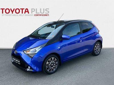 brugt Toyota Aygo 1,0 VVT-I X-Cite Safety Sense 72HK 5d A+++