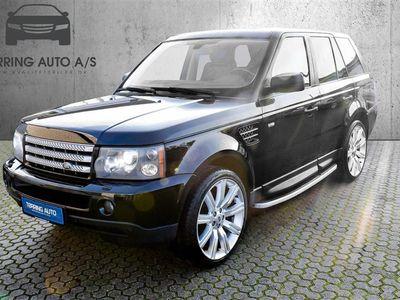 brugt Land Rover Range Rover Sport 4,2 V8 S/C 4x4 390HK 5d 6g Aut. - Personbil - sortmetal