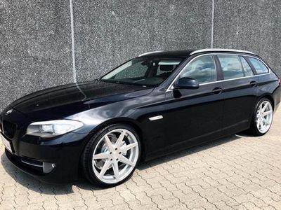 """brugt BMW 520 2,0 D Touring - Nye 20"""" Rohana fælge"""