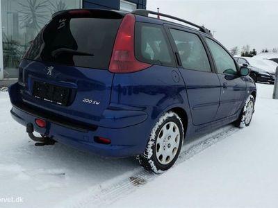 brugt Peugeot 206 SW 2,0 HDI 90HK Stc
