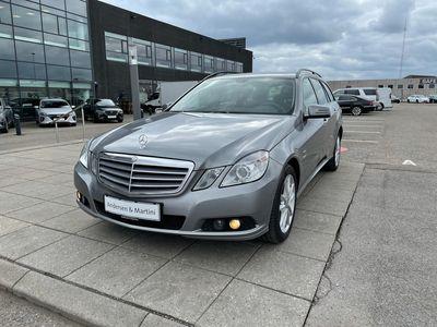 brugt Mercedes E250 T 2,1 CDI BlueEfficiency 204HK Stc Aut.