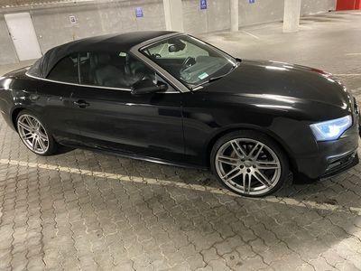 brugt Audi A5 Cabriolet 3.0 TDI 245 HK 2-dørs QUATTRO S tronic