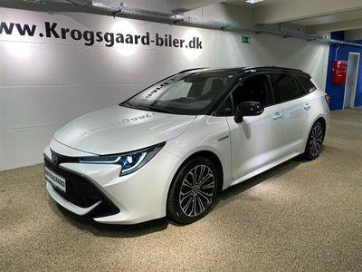 brugt Toyota Corolla Touring Sports 2,0 B/EL H3 Premiumpakke E-CVT 180H