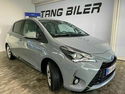 brugt Toyota Yaris Hybrid H2 Premium e-CVT 100hk