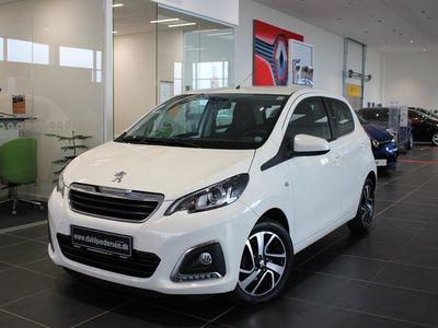 brugt Peugeot 108 1,0 e-Vti Allure+ 69HK 5d