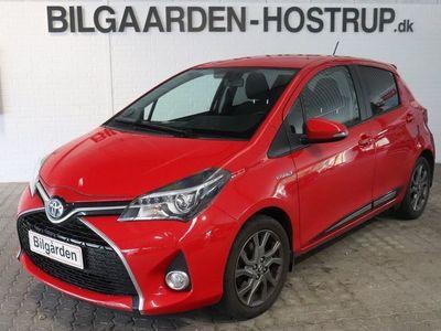 brugt Toyota Yaris Hybrid 1,5 Hybrid Style CVT
