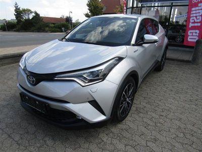 brugt Toyota C-HR 1,8 B/EL C-LUB Premium Multidrive S 122HK 5d Aut.