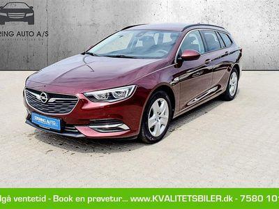 brugt Opel Insignia Sports Tourer 1,5 Turbo Enjoy Start/Stop 140HK Stc 6g - Personbil - bordeauxmetal