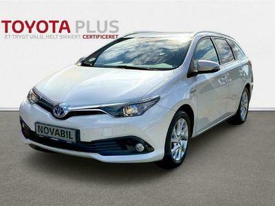 brugt Toyota Auris Hybrid 1,8 Hybrid Comfort Smart 136HK 5d Aut.