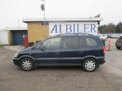 brugt Opel Zafira 1,6 16V Comfort 7prs