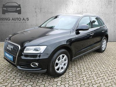 brugt Audi Q5 2,0 TDI S Tronic 190HK 5d Aut. - Personbil - sortmetal