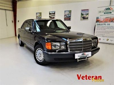 second-hand Mercedes 560 SEL (W126)