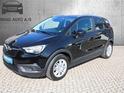käytetty Opel Crossland X 1,2 Enjoy 81HK 5d - Personbil - sort