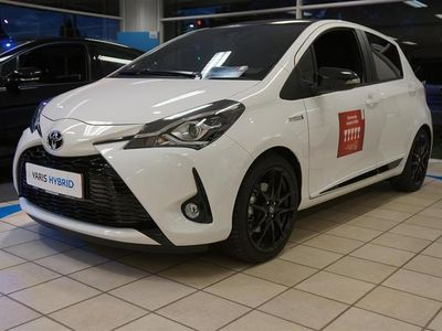 brugt Toyota Yaris 1,5 B/EL H3 GR Sport E-CVT 100HK 5d Trinl. Gear