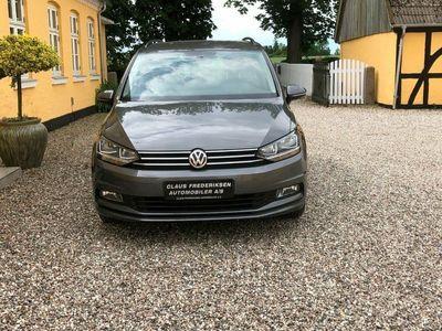 gebraucht VW Touran 1,6 TDi 110 Comfortline BMT 7prs
