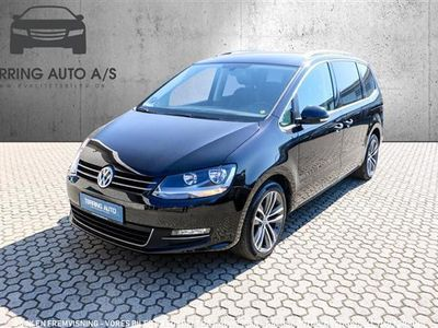 käytetty VW Sharan 2,0 TDI BMT SCR Highline DSG 150HK 6g Aut. - Personbil - sort - 7 pers.