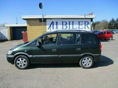brugt Opel Zafira 1,8 16V Elegance 7prs