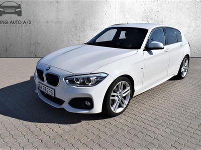 brugt BMW 116 d 1,5 D M-Sport Steptronic 116HK 5d 7g Aut. - Personbil - Hvid