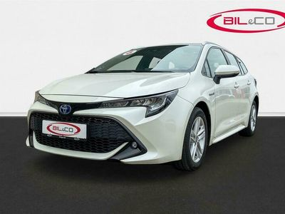 brugt Toyota Corolla Touring Sports 1,8 Hybrid H3 E-CVT 122HK Stc 6g Aut.