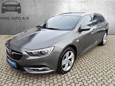 brugt Opel Insignia Sports Tourer 1,5 Turbo Dynamic Start/Stop 165HK Stc 6g - Personbil - gråmetal