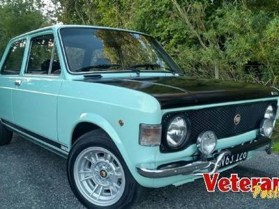 brugt Fiat 128 Rally. Unik stand